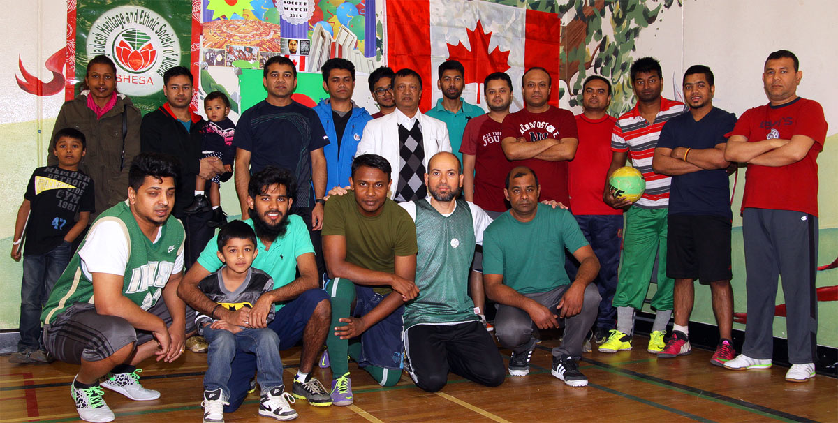 MJMF Soccer Friendship Tournament at Alex Taylor School in Edmonton in 2015